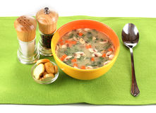 Tasty soup Stock Photography