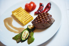 Tasty steak Royalty Free Stock Image