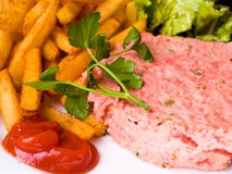 Tasty Steak tartare Stock Photography
