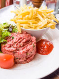 Tasty Steak tartare Royalty Free Stock Photo