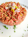 Tasty Steak tartare Stock Photos