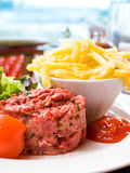 Tasty Steak tartare Stock Images