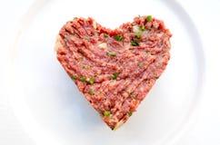 Tasty Steak tartare Stock Photos