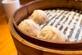 Tasty steamed potstickers Royalty Free Stock Photography