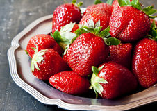 Tasty Strawberries Royalty Free Stock Photos