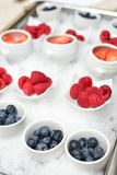 Tasty summer berries fruits Royalty Free Stock Image