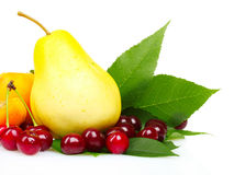 Tasty summer fruits Stock Photo