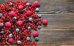 Tasty summer fruits Stock Images