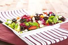 Tasty summer salad. Stock Photo