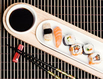 Tasty sushi Royalty Free Stock Image
