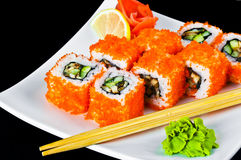 Tasty sushi Royalty Free Stock Photography