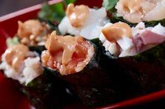 Tasty sushi Stock Images