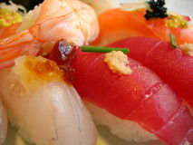 Tasty sushi Stock Photography
