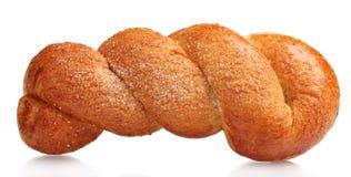 Tasty sweet bun Royalty Free Stock Images