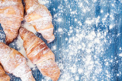 Tasty Sweet Croissant Royalty Free Stock Images