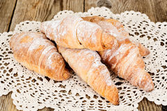 Tasty Sweet Croissant Stock Photo
