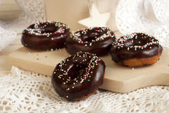 Tasty sweet donuts Royalty Free Stock Photography