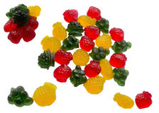 Tasty sweet fruit jelly. Stock Photography