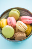 Tasty sweet macarons. Royalty Free Stock Image