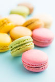 Tasty sweet macarons. Royalty Free Stock Photos