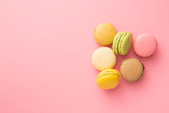 Tasty sweet macarons. Stock Images