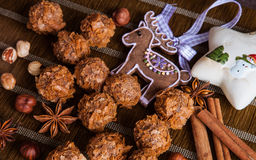 Tasty sweets and spices Royalty Free Stock Image