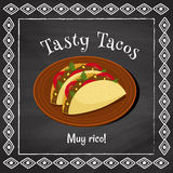 Tasty tacos Stock Photo