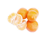 Tasty tangerines Royalty Free Stock Image