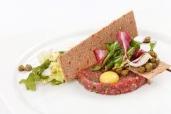 Tasty tartare Stock Image