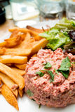Tasty tartare Royalty Free Stock Photo