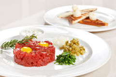 Tasty tartare Stock Photos