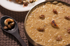 Tasty Thick and creamy Dal payasam from India Stock Images
