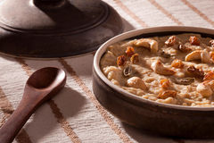 Tasty Thick and creamy Dal payasam from India Stock Photography