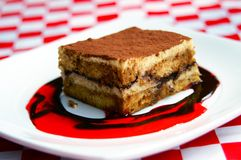 Tasty Tiramisu Royalty Free Stock Photo