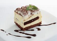 Tasty tiramisu dessert Royalty Free Stock Image