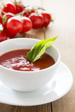 Tasty tomato soup Royalty Free Stock Photos
