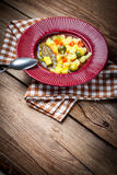 Tasty vegetable soup. Royalty Free Stock Image