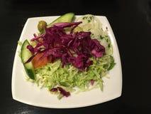 Tasty vegetarian salad Royalty Free Stock Photo