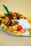 Tasty vegetarian salad Stock Photos