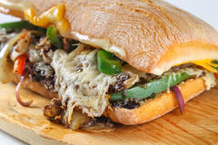 Free Tasty Vegetarian Sandwich In A Ciabatta Stock Photos - 66819043