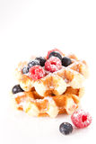 Tasty Waffles Royalty Free Stock Image