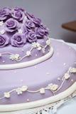 Tasty wedding cake on the table. Stock Photos
