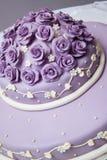 Tasty wedding cake on the table. Stock Image