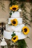 Tasty wedding cake royalty free stock image