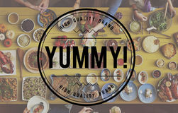 Tasty Yammy Taste Food Meal Concept Royalty Free Stock Images