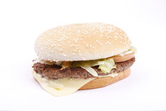 Tasty, yummy hamburger Royalty Free Stock Photo