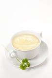 Tasty zucchini soup Stock Photography