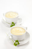 Tasty zucchini soup Royalty Free Stock Images