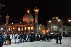 Tasua und Ashura - Schah Cheragh-Moschee Lizenzfreie Stockfotos