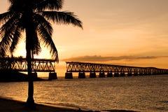 état de stationnement du Bahia Honda Photos libres de droits